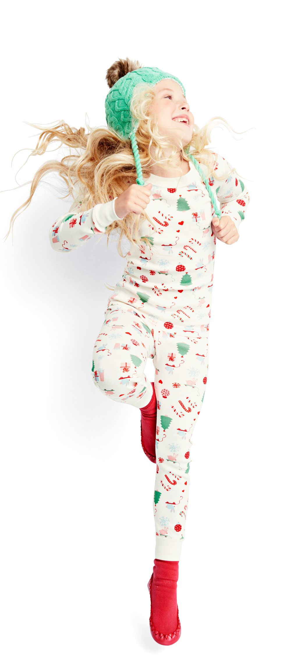 All new kids and family holiday pajamas in organic cotton
