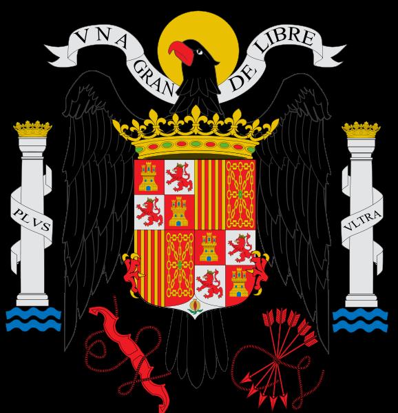 Escudo Franquista Historia De La Bandera Heraldica Española España De Franco
