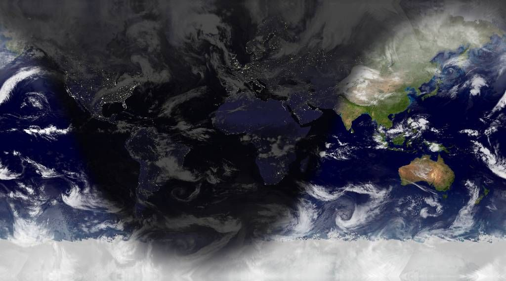 World Sunlight Map
