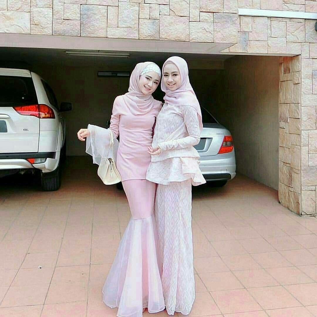Pinterest - ̗̀@haf_tima ̖́- | Gaya abaya, Gaun peplum, Pakaian pesta