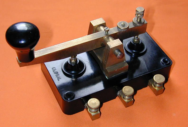 CLIPSAL MORSE KEY, made in Australia  | AMATEUR RADIO