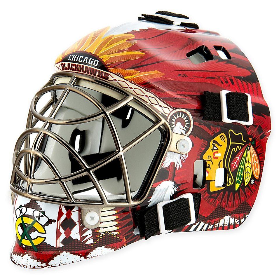 NHL Chicago Blackhawks Mini Goalie Mask Multi Goalie