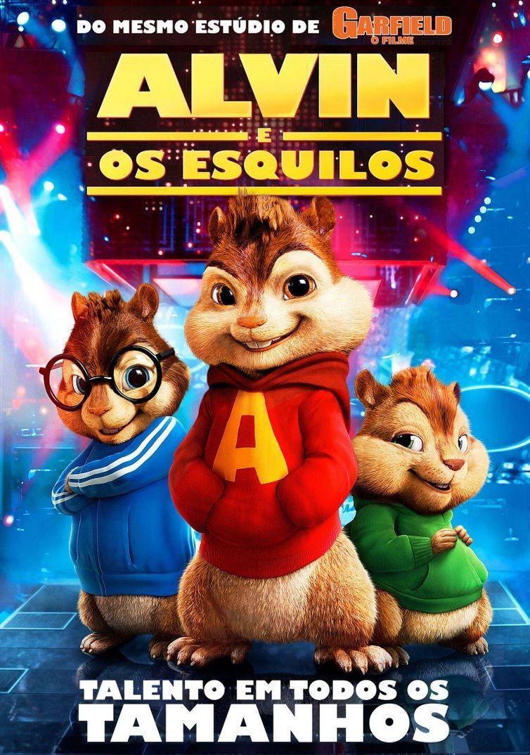 Alvin E Os Esquilos Tim Hill 2007 Com Imagens Filmes