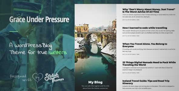 Download and review of GraceUnderPressure ­| Responsive Theme Optimised for Touch, one of the best Themeforest Magazine & Blogs themes {Download & review at|Review and download at} {|-> }http://best-wordpress-theme.net/graceunderpressure-responsive-optimised-touch-download-review/