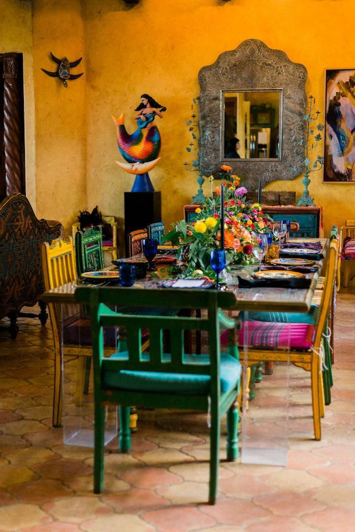 Alebrije Mexican Folk Art Inspired Baby Shower | Kara's Party Ideas
