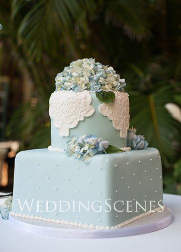 紫陽花のWedding Cake 〜Hydrangea〜の画像