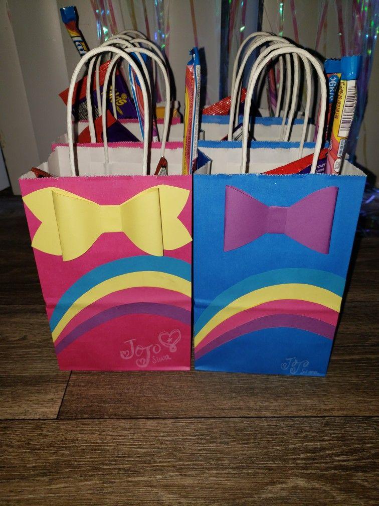 Jojo Siwa Goodie Bags 🎀 Fiestas Familiares In 2019
