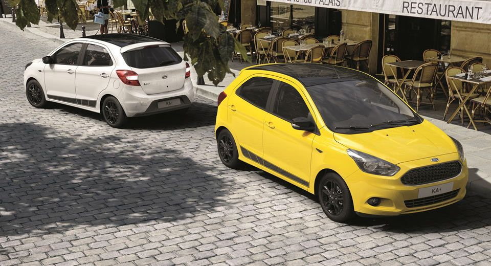 Ford Ka Tries To Get Funky With New Color Edition Ford Get