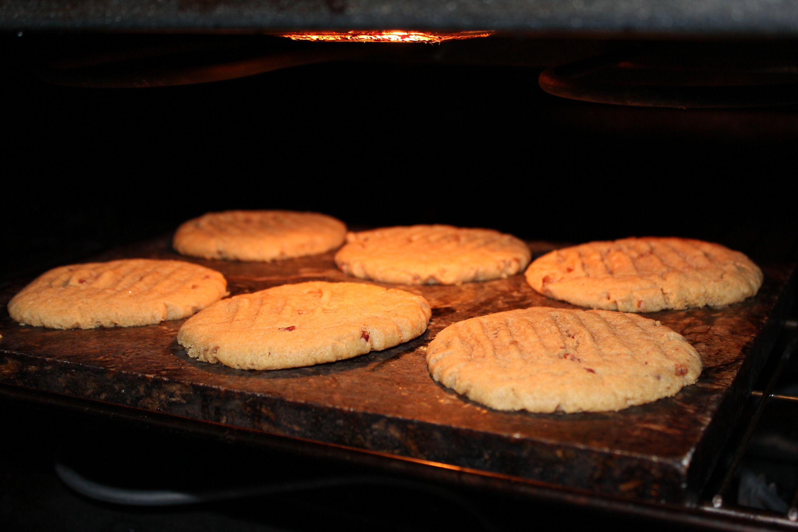 Peanut Butter and Bacon GrillingStone Cookies