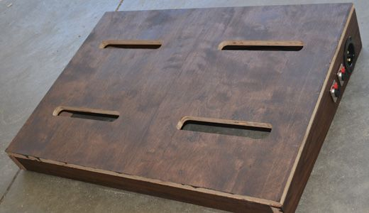 diy pedalboard build woodworking projects diy pedalboard pedalboard diy guitar pedal. Black Bedroom Furniture Sets. Home Design Ideas