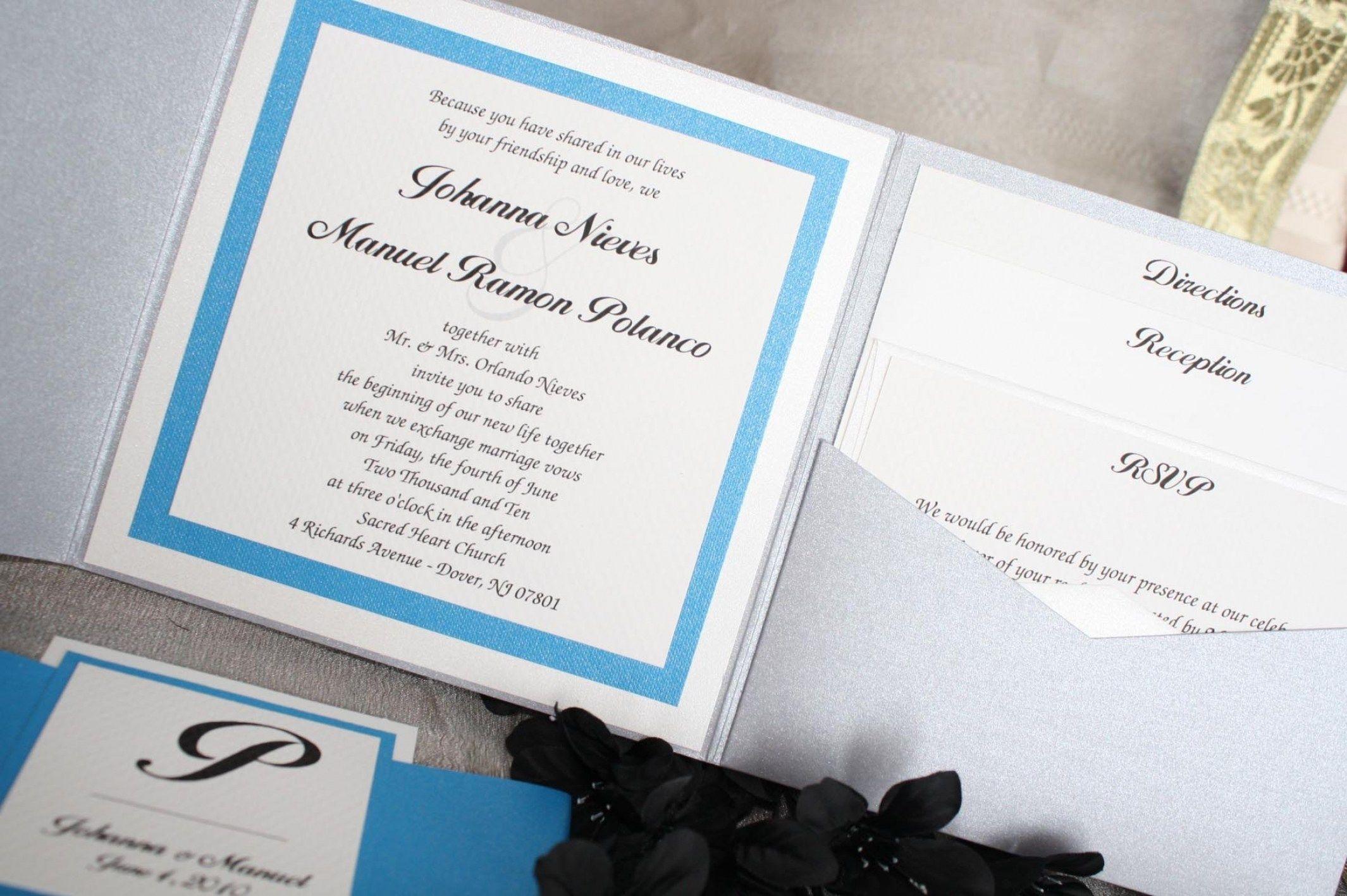 30 DIY Handmade Wedding Invitation Designs | Invitation design ...