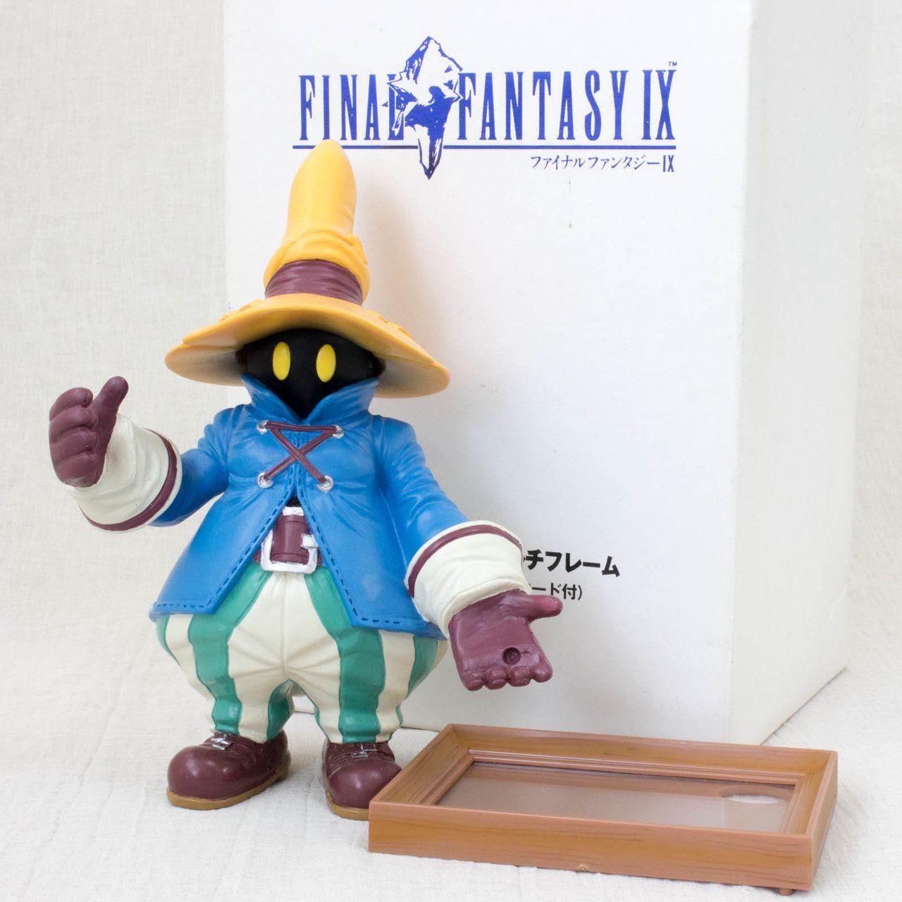 RARE! Final Fantasy IX 9 VIVI Polystone Figure Multi Frame Square JAPAN GAME