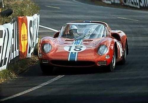 Pedro Rodriguez 1965 Ferrari 365 P2 0838 Motorsports Archives