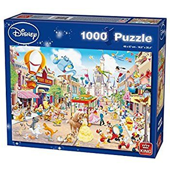 7 King Disneyland Puzzle 1000 Pieces Amazoncouk Toys Games