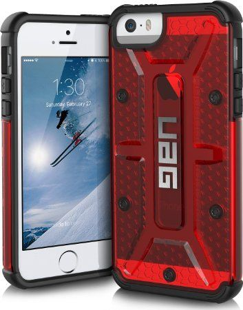 reputable site f1a60 475cd UAG iPhone SE / iPhone 5s Feather-Light Composite [MAGMA] Military ...