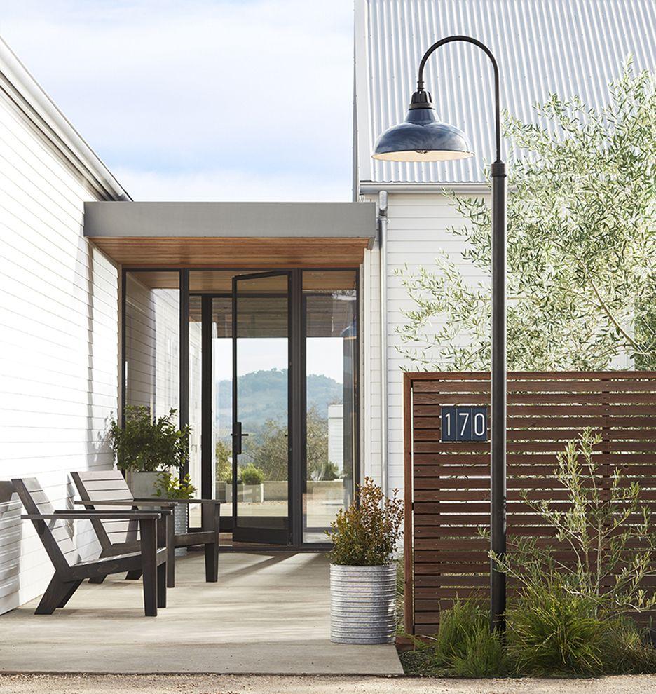 Carson 20 Shepherd S Hook Post Light Rejuvenation In 2020 Outdoor Lamp Posts Outdoor Post Lights Post Lights