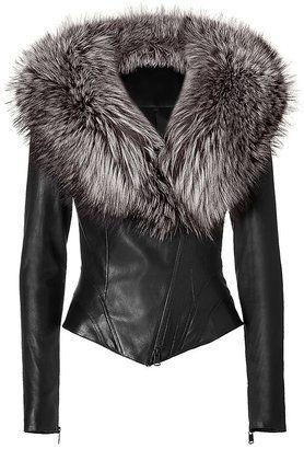 e30fdf879ef1 Jitrois | shoesdressbagslove | Fashion, Fur collar jacket, Jackets