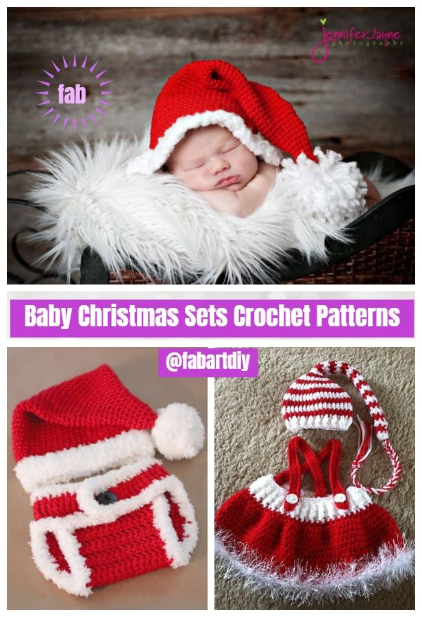Christmas Crochet Gingerbread Girl Dress Free Crochet Pattern | Baby ...