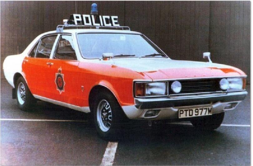 Ford Granada Police Cars Old Police Cars British Police Cars