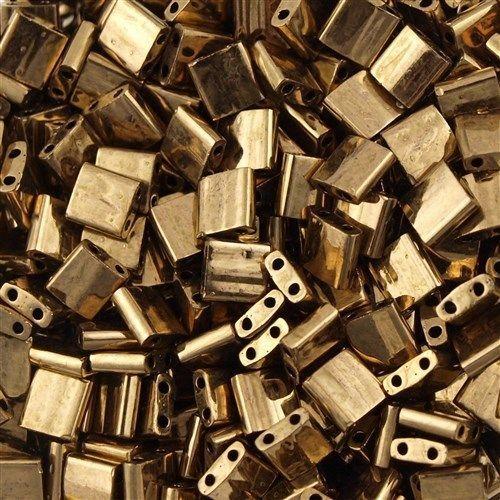 Miyuki Tila Seed Bead Metallic Dark Bronze 10g TL-457 in Jewellery & Watches, Loose Beads, Seed | eBay
