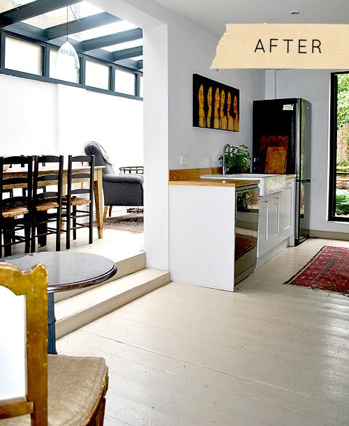 Kitchen Ideas New Zealand: Before & After: An Understated London Terrace Kitchen
