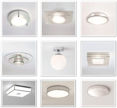 Oświetlenie Sufitowe W łazience Oświetlenie łazienki