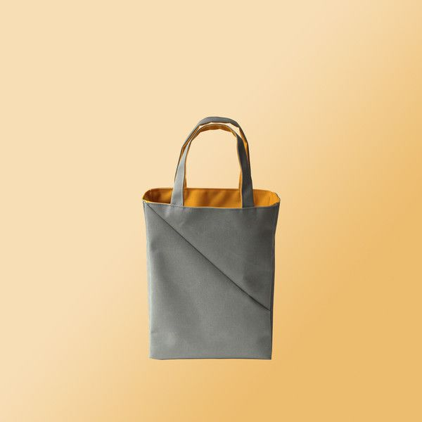 Parasolbag Mini Tote made from cut-off canvas