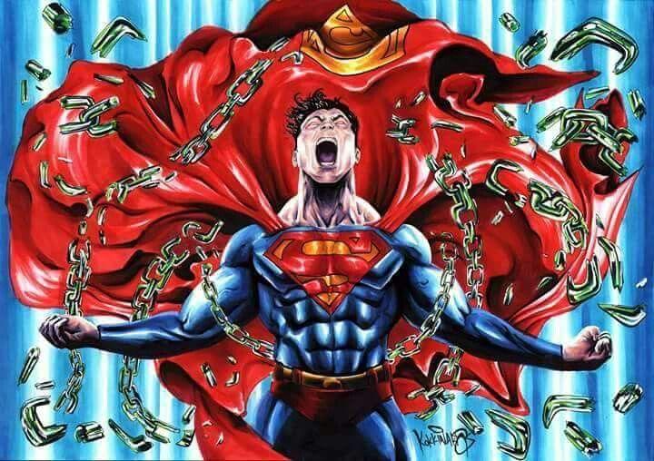 Superman unleashed.