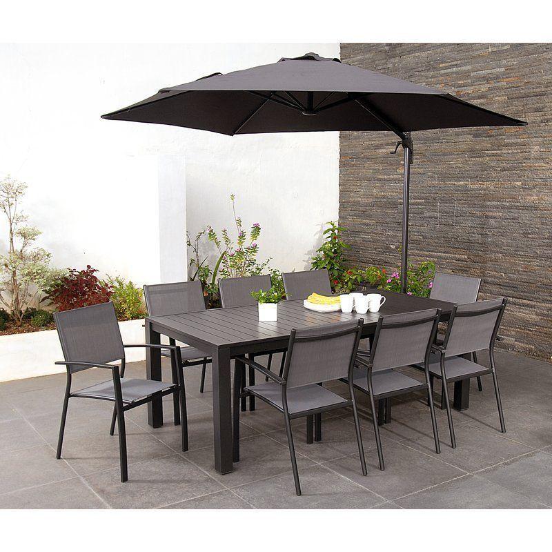 8 seater dining set garden patio table