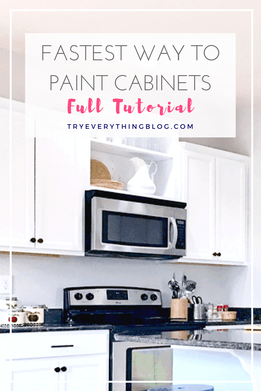 the fastest way to paint kitchen cabinets with the best results 4 rh pinterest com