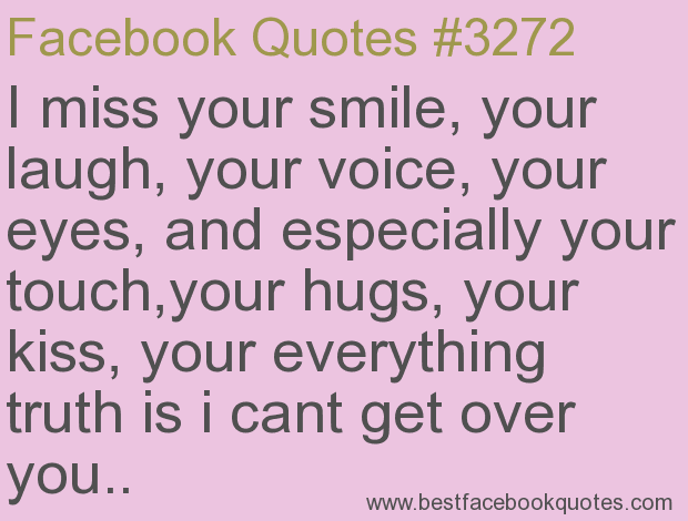 miss you don\'t know you | ... truth is i cant get over you..-Best ...