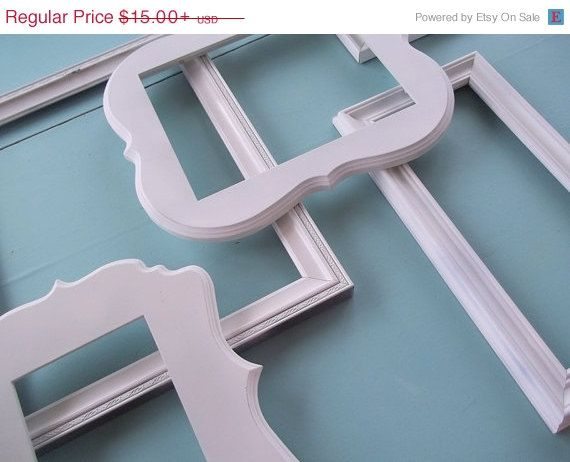 Scalloped Custom Frame Add On Any Size 11 X 14 8x 10 5 X 7 4 X Etsy Gallery Wall Picture Frames Picture Frame Wall Picture Gallery Wall