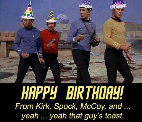 Star Trek Party Ideas Star Trek Happy Birthday Birthday Wishes Funny Star Trek Birthday