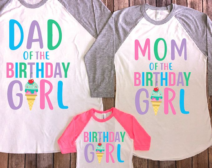Birthday girl shirt, Ice cream birthday shirt, ice cream shirt, ice cream theme birthday, ice cream birthday party, girl birthday outfit #icecreambirthdayparty