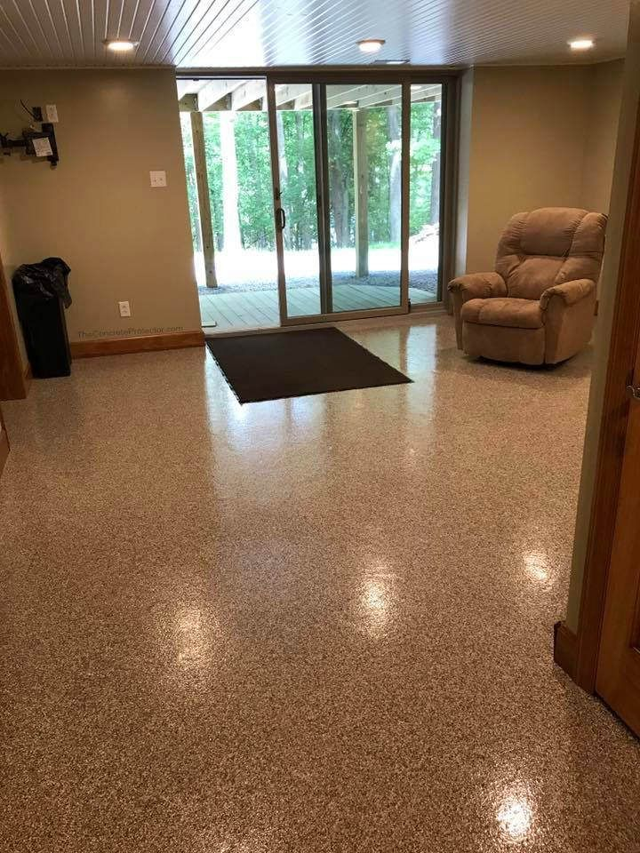 epoxy flake floor 360 coatings morgantown wv in 2019 crazy cool rh pinterest com