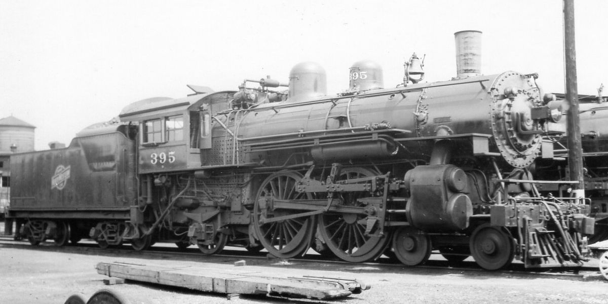 Chicago & North Western RR 442 Engine No. 395 (With