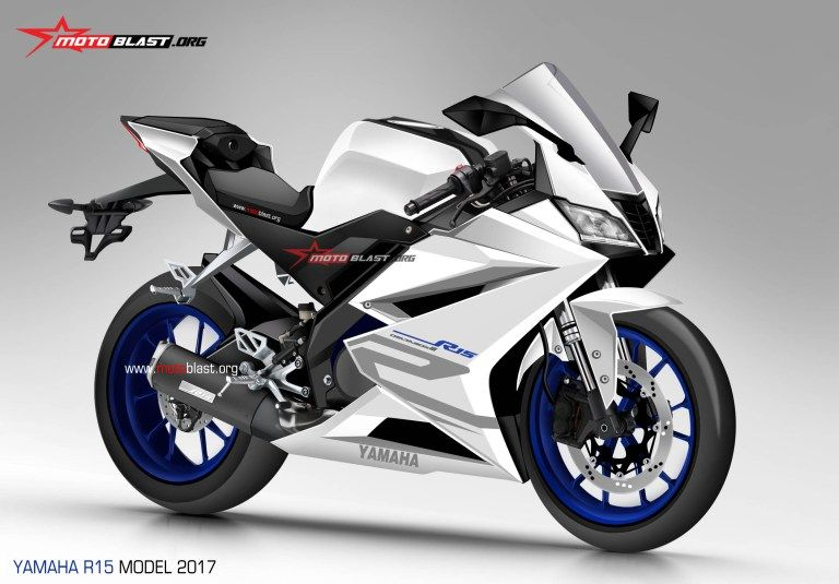 Yamaha R15 v3 0 rendered based on latest spy images | Spy
