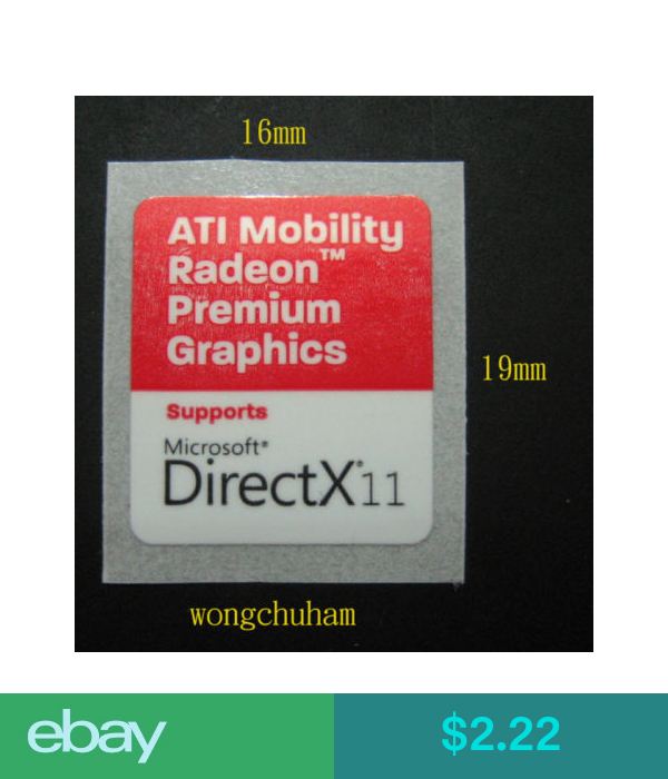 ATI MOBILITY RADEON PREMIUM GRAPHICS Sticker