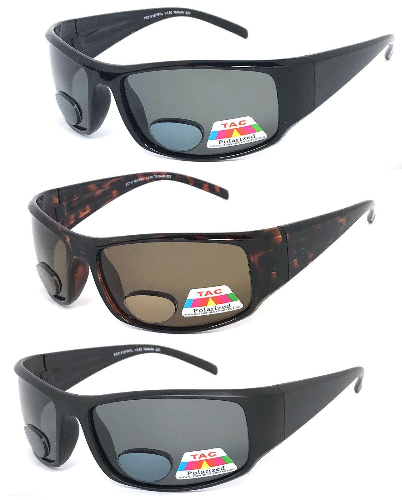 ee9177d196f9  10.95 - Polarized Mens Womens Bifocal Sunglasses Reading Sun Glasses Wrap  Uv400  ebay  Fashion