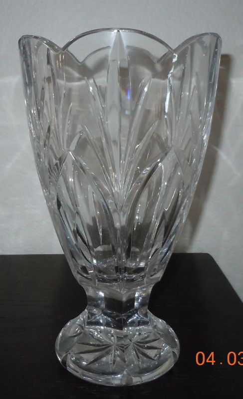 Waterford Marquis Canterbury Vase 10 Inches Waterford Waterford Waterford Marquis Waterford Crystal Vase