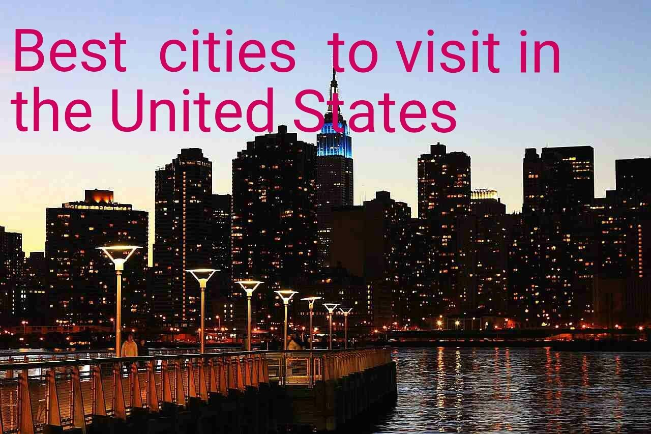 Best cities to visit in the United States http://www.earthsattractions.com/best-cities-to-visit-in-the-united-states/ #US #USA #travel