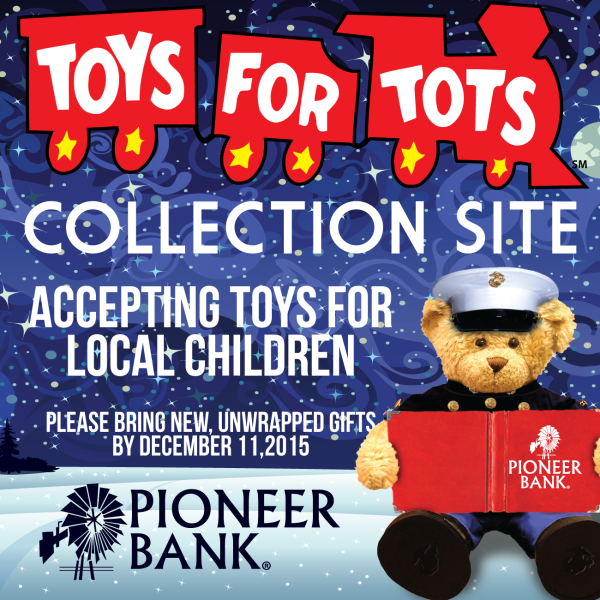 Toys for tots images  Pin by Pioneer Bank on Events  Pinterest  Marines