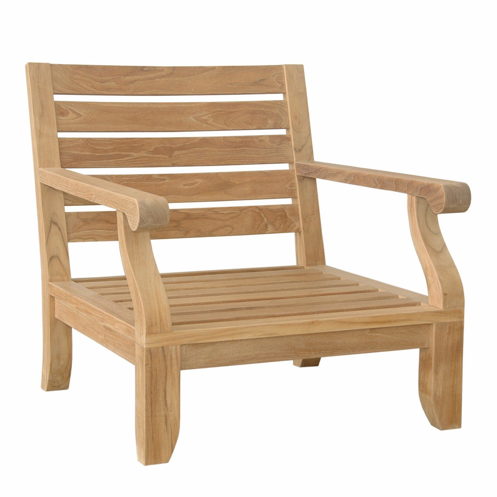 anderson teak riviera luxe outdoor armchair makaw in 2019 products rh pinterest com