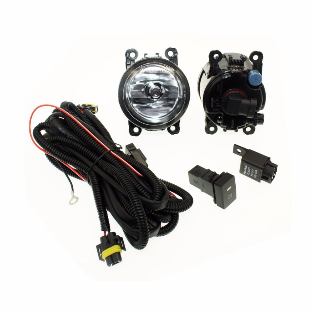 hight resolution of h11 wiring harness sockets wire connector switch 2 fog lights drl front bumper halogen car lamp for vauxhall astra mk iv g yesterday s price us 38 99
