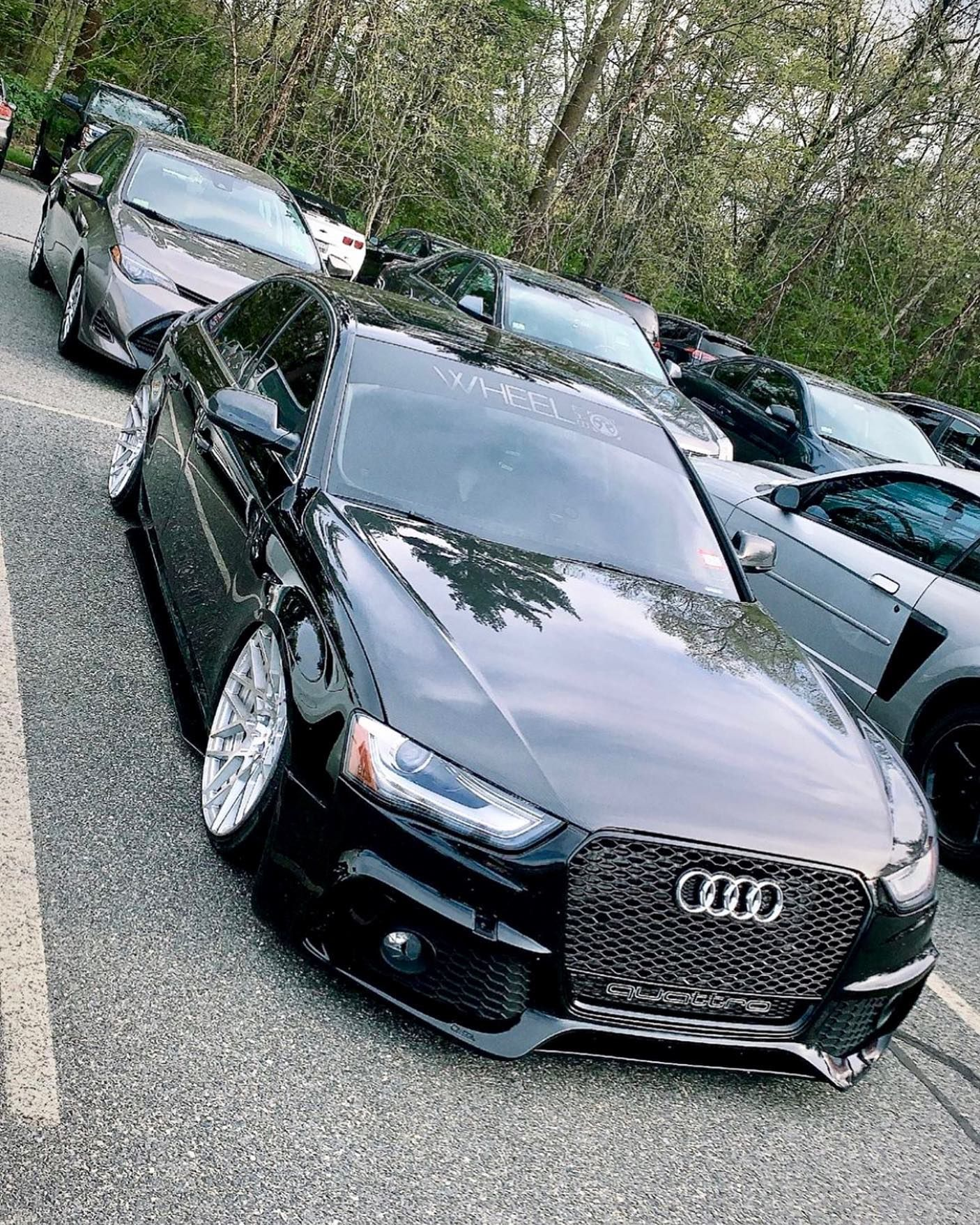 Caractere Front Bumper With Foglights Fits Audi A4 B8 5 Audi A4 Audi Audi Dealership