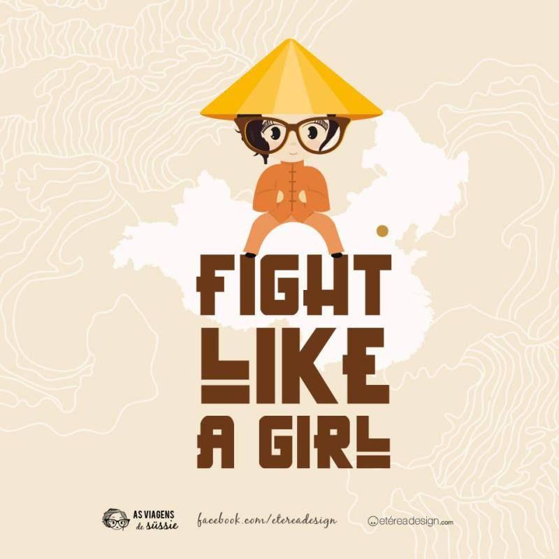 Fight Like a Girl by Etérea Design