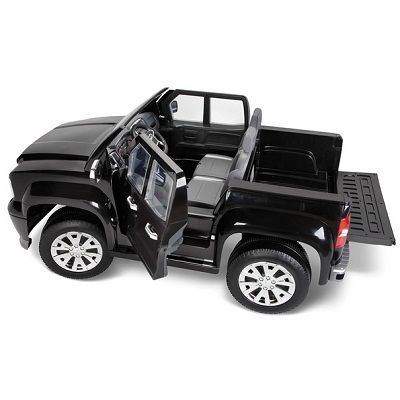 An Electric Ride On Truck For Kids That Is A Faithful Replica Of The Gmc Sierra Denali