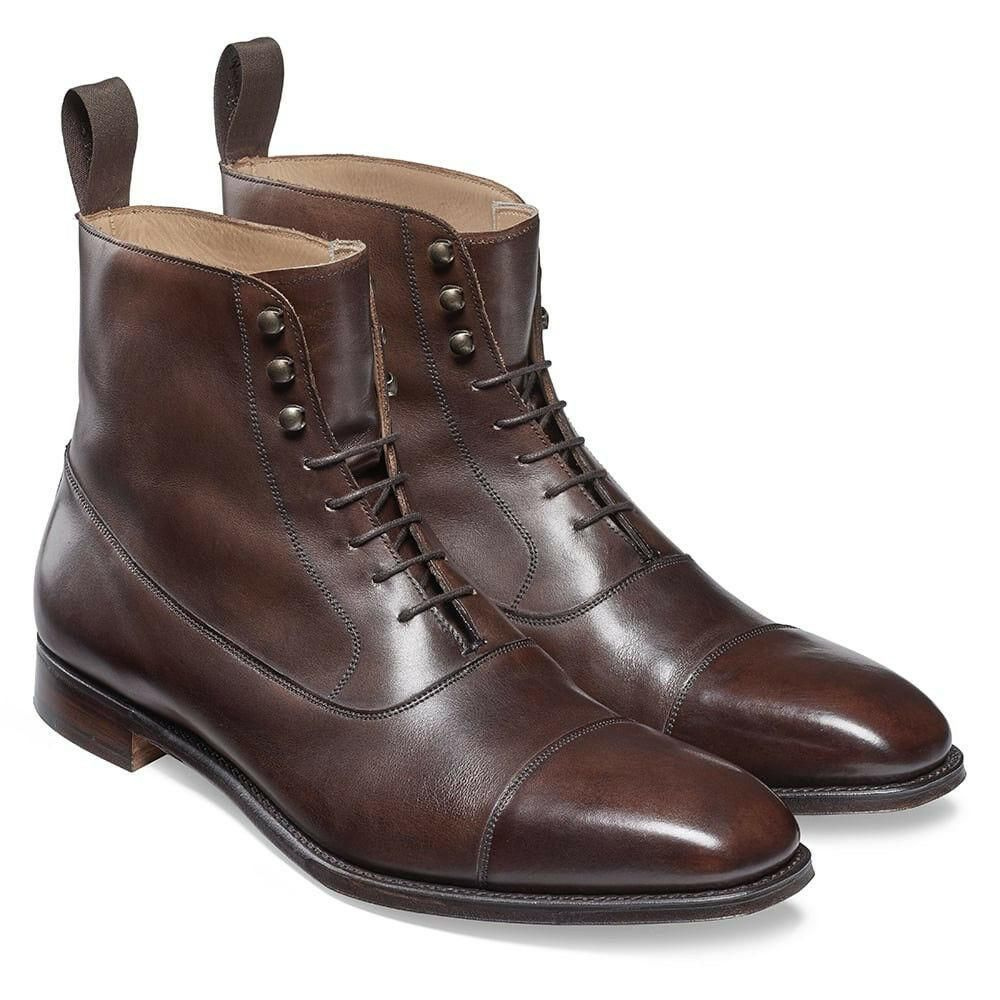 Brown Chelsea Boots, Ankle High Leather