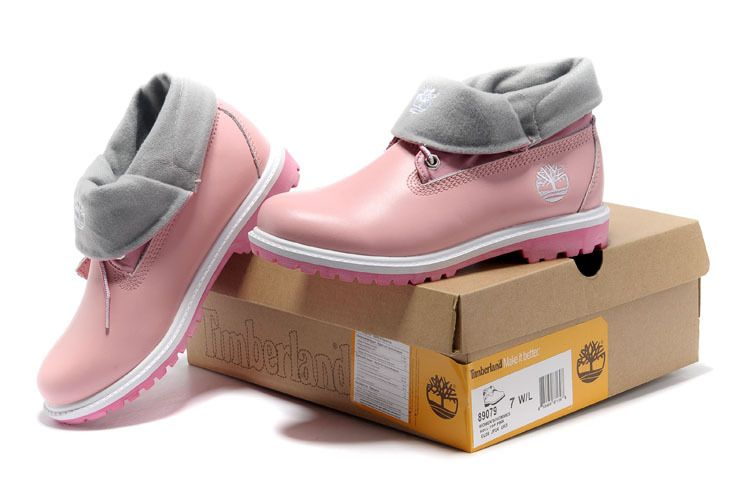 timberland roll top boots for kids