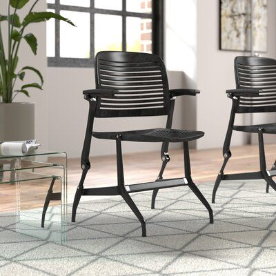 Steelcase Cachet Guest Chair Fabric Options: Seat Fabric Only, Fabric Color: Vin…